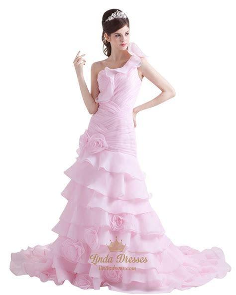 Mermaid Wedding Dress With Flowers On Bottom   Wedding