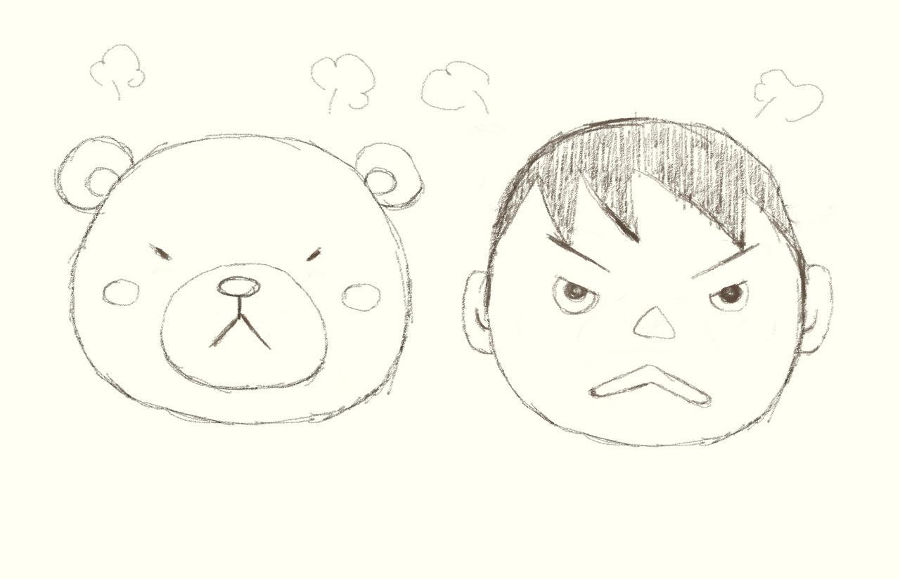 いろんな表情の描き方 かんたんなお絵かき講座