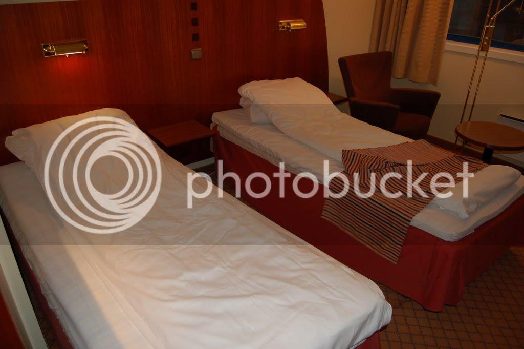 Half-twin beds