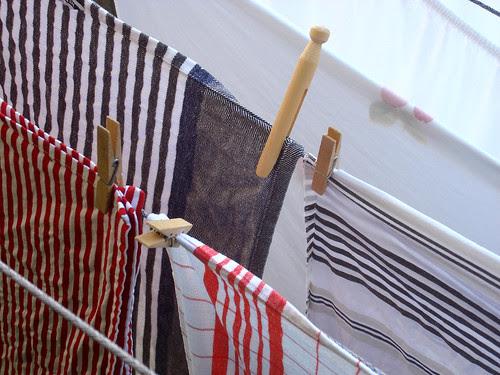 frisch gewaschene Wäsche