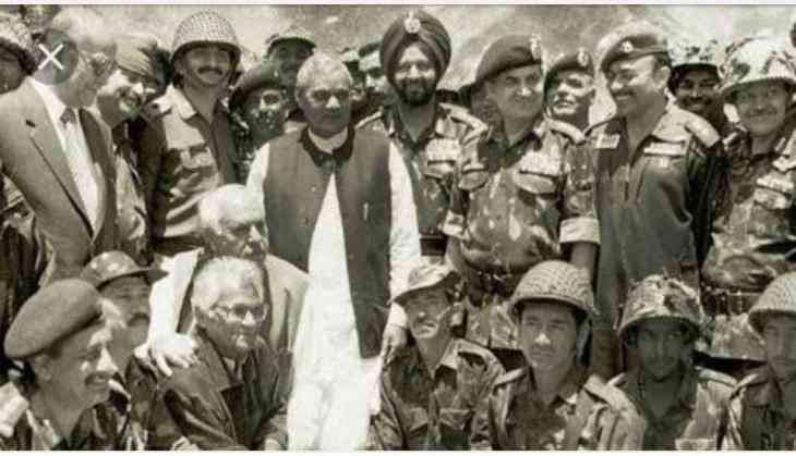 Image result for vajpayee kargil war