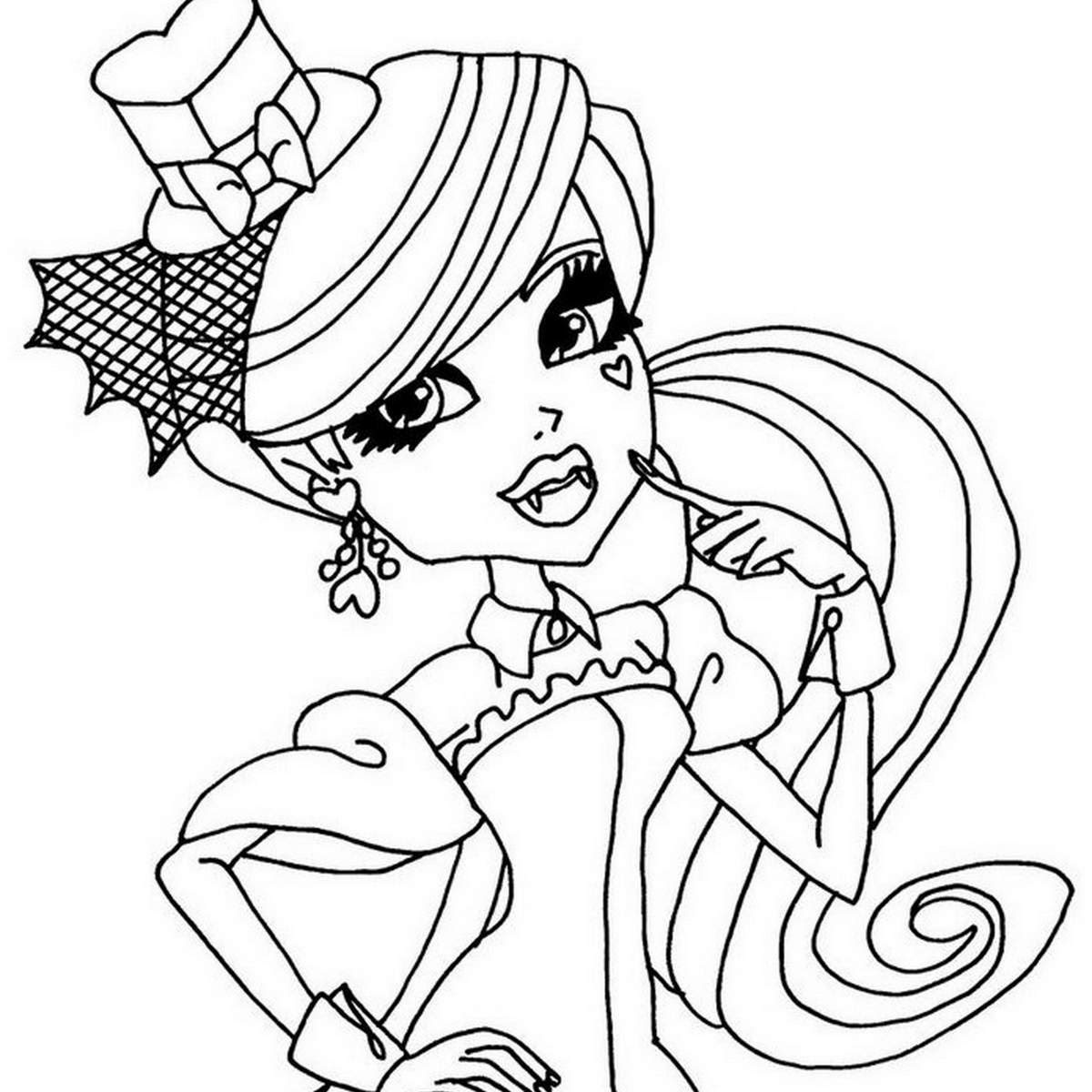 Coloriage Monster High Bebe Coloriage Monster High Baby Les Beaux