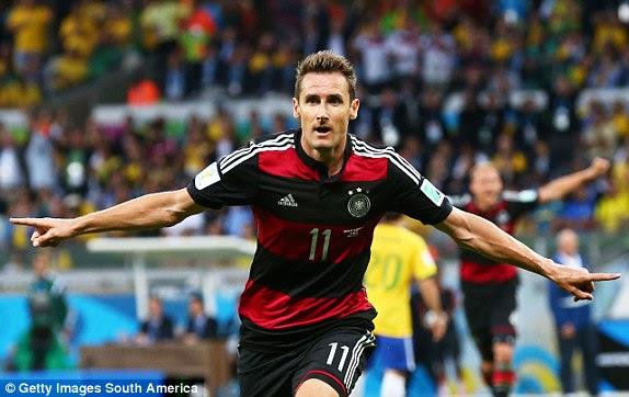 REZUMAT VIDEO GOLURI Germania Brazilia 7-1 08 07 2014 CM Fotbal Germany vs Brazil highlights goals Miroslav Klose
