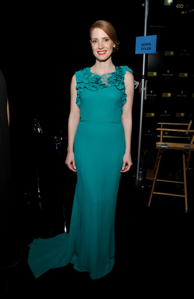 Jessica Chastain - Inside Views at the Critics' Choice Movie Awards