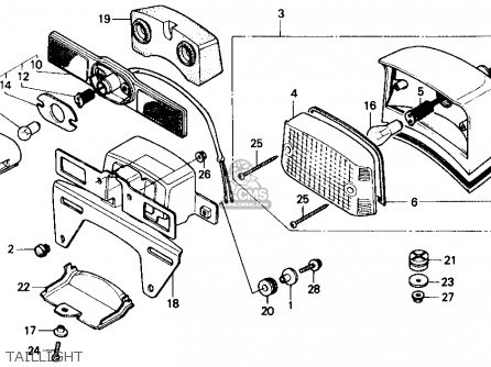 Honda Cmx250cd Rebelltd 1986 (g) Usa California parts list ...
