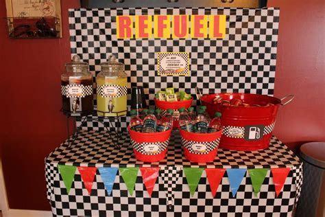 NASCAR Race Car Birthday Party Ideas   Photo 1 of 17