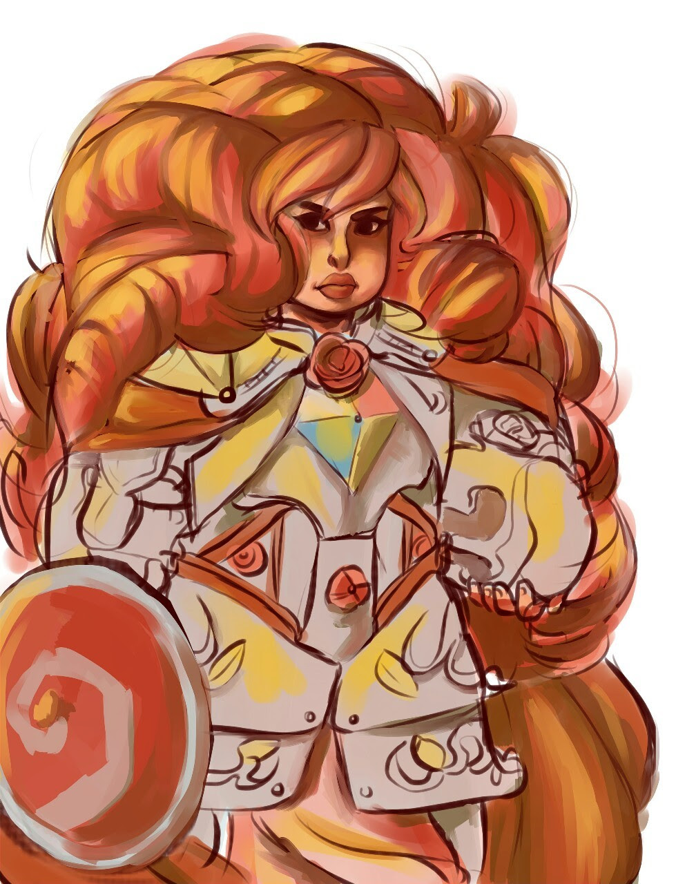 I want to see a strong lady look even stronger wearing armor is that such a bad thing?