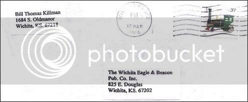 BTK's March 19, 2004 Letter