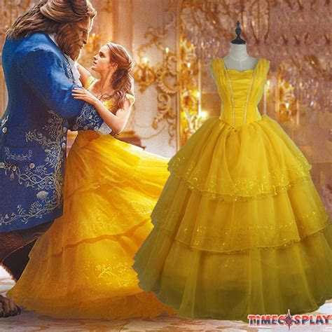 beauty   beast princess belle cosplay