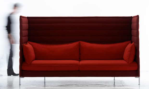 Sofa Alcove Highback - Ronan and Erwan Bouroullec, muebles, decoracion, diseño
