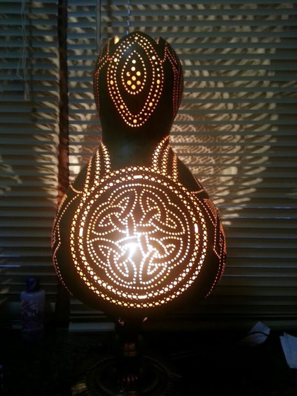 Amazing Art Inspired Gourd Lamps (23)