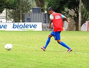 leo moura flamengo treino (Foto: Janir Júnior / Globoesporte.com)