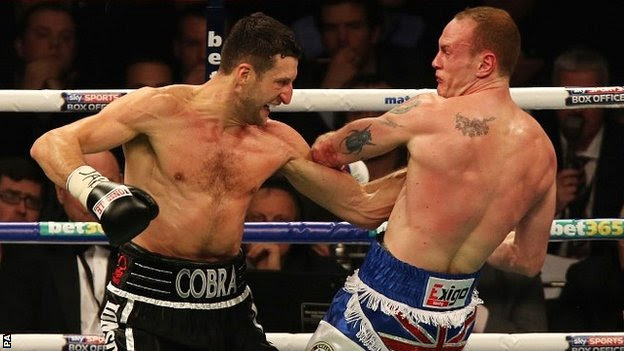 Carl Froch and George Groves do battle in Manchester