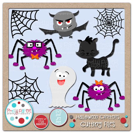 Halloween Critters Cutting Files