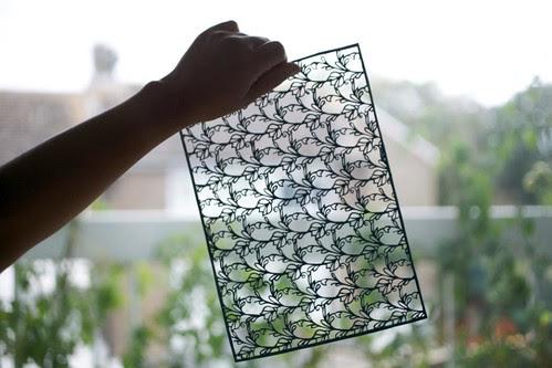 hanji-papercutting