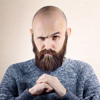 Glatze Und Bart Sollten Sich Bartträger Eine Glatze Rasieren