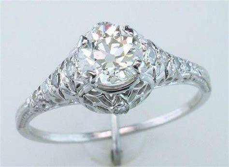 Art Deco Wedding Ring   eBay