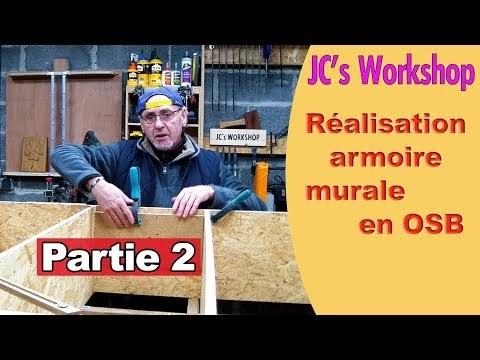 JC's Workshop: Comment faire une armoire murale avec porte ...