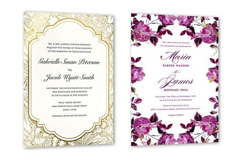wedding invitation wording examples  shutterfly