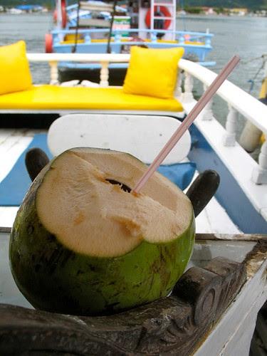 Fresh coco water