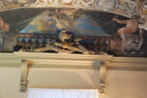 Fascio littorio in Palazzo d'accursio of Bologna
