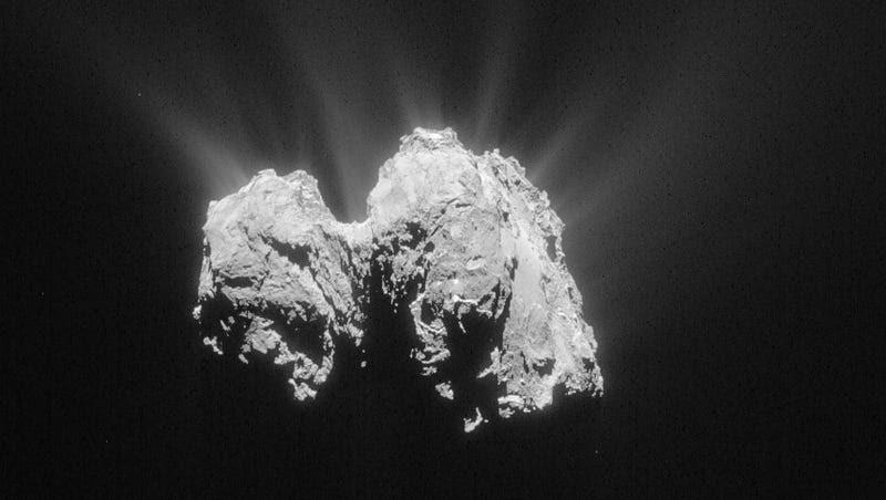 Tras 12 años de misión, la sonda Rosetta se estrellará sobre el cometa 67P