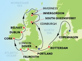 12-Day British Isles from Copenhagen