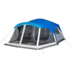Portable Poles: Embark 9 Person Cabin Tent With Screen ...