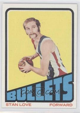 1972-73 Topps #2 - Stan Love - Courtesy of COMC.com