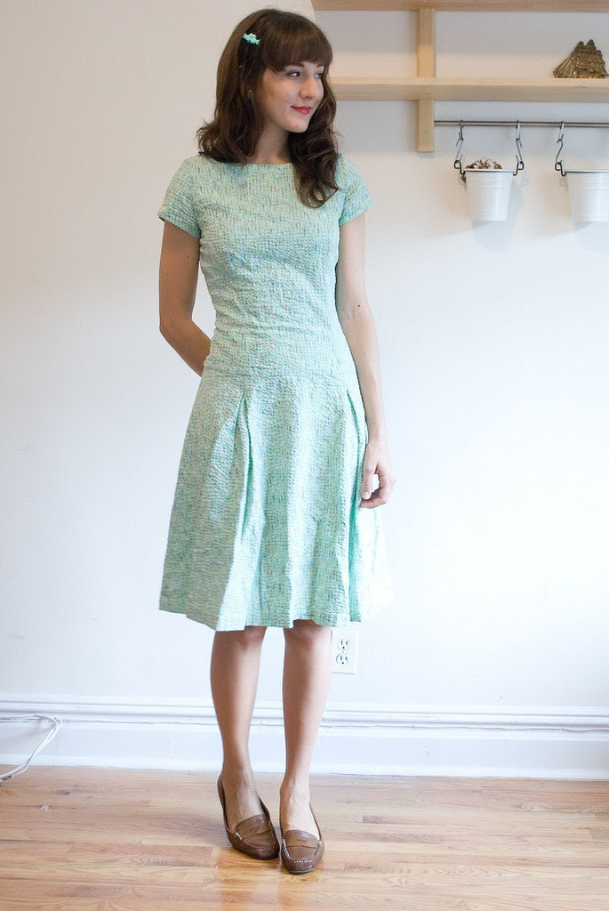 Mint Green Sun  Dress