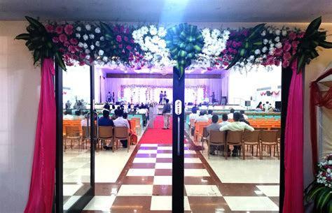 Wedding Reception Decoration done at BKN Auditorium