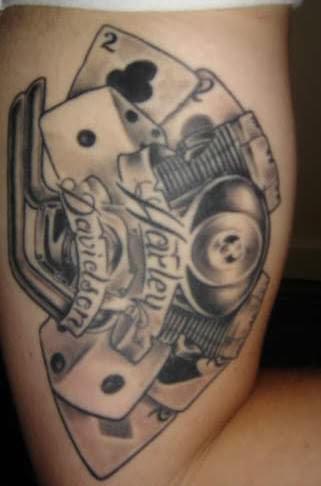 Harley Davidson Tattoos on Harley Davidson Tattoo