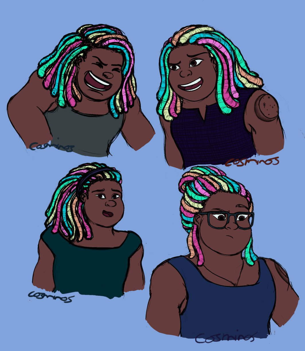 i drew some human bismuth i love her
