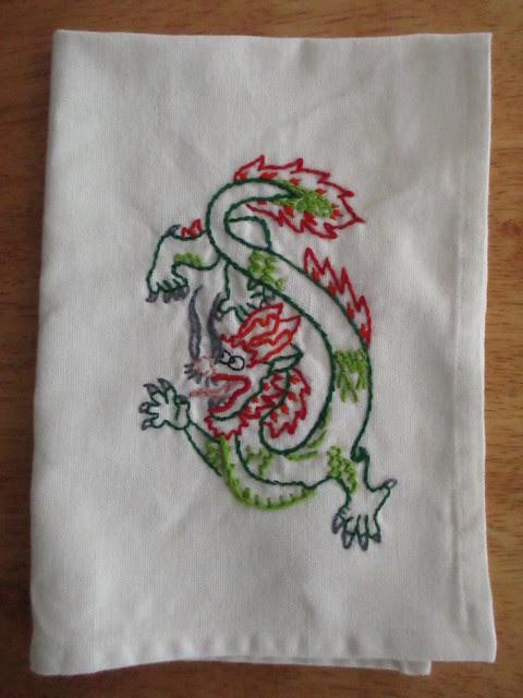 Dragon Hankie
