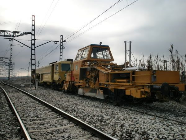 Tren de trabajo vista lateral