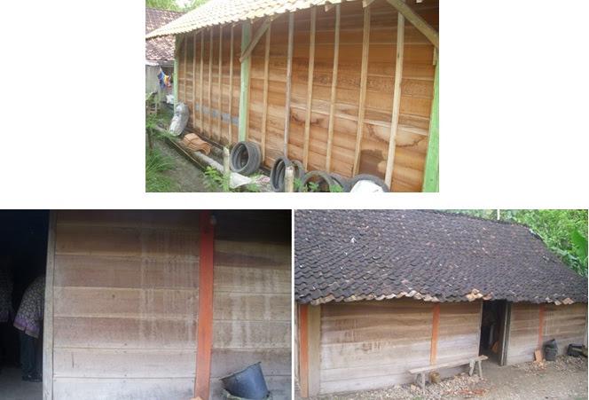 Dinding Papan kayu