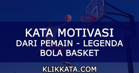 kumpulan kata kata basket pemain bola basket basketball