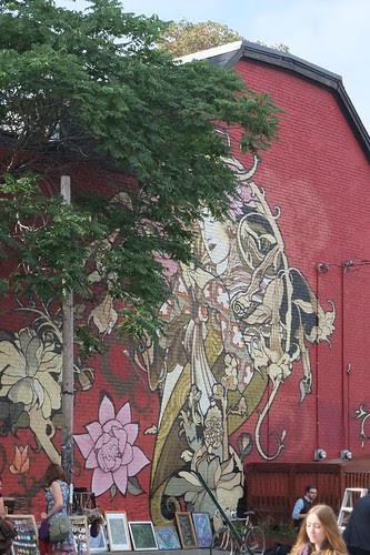 Moucha mural