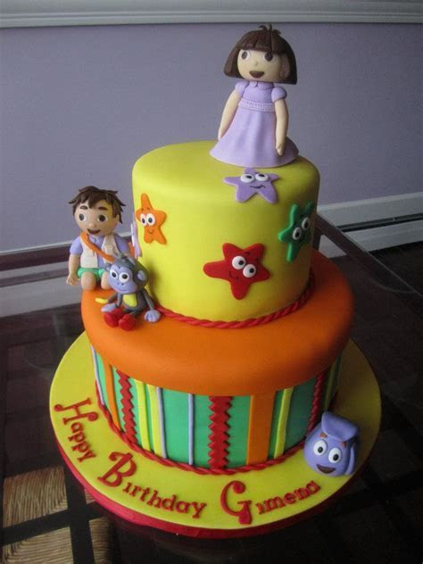 Dora and Diego Cake   Sweet Discoveries