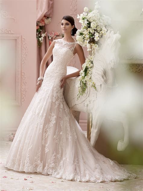 David Tutera wedding dresses for Mon Cheri Spring 2015