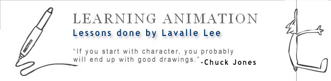 Learning Animation - The Art of Lavalle Lee
