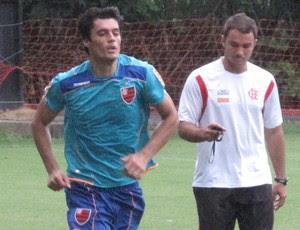 Marcos Gonzalez flamengo (Foto: Thales Soares/GLOBOESPORTE.COM)
