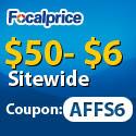 $50-$6 sitewide, code: AFFS6