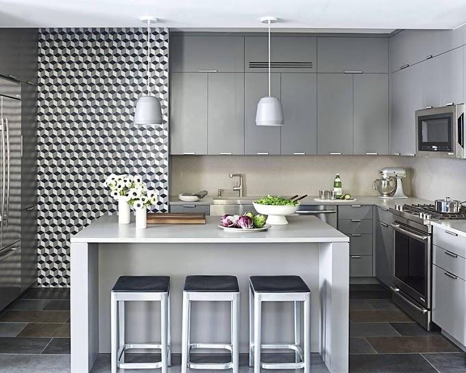 Contoh Motif Keramik Lantai Dapur | Ide Rumah Minimalis