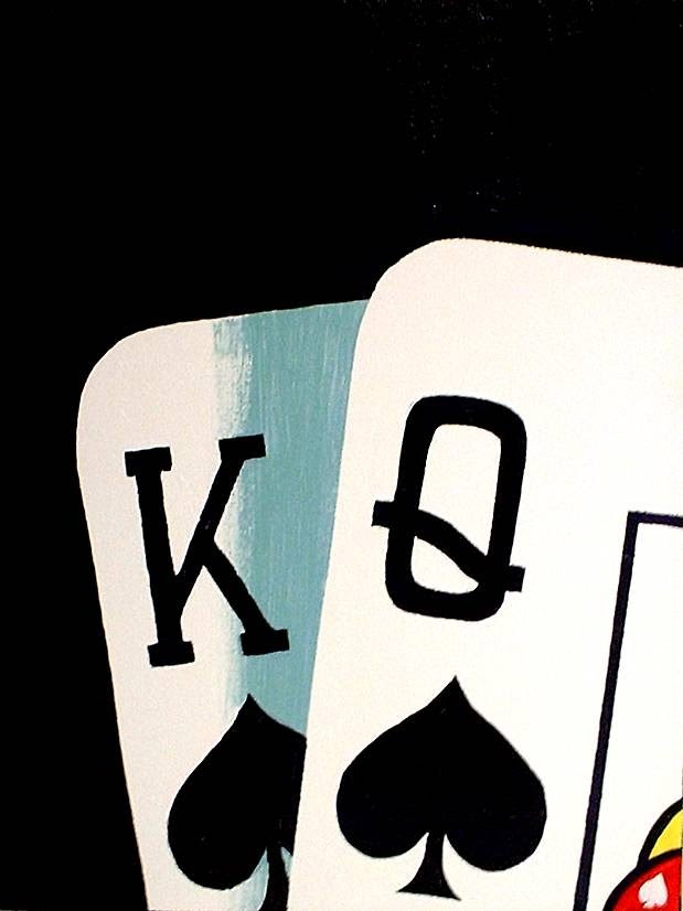 Teo Alfonsos King Queen Of Spades Similar Paintings Can Be Re
