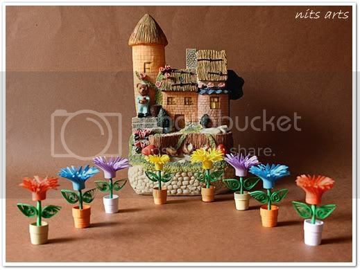 Quilling flowers2