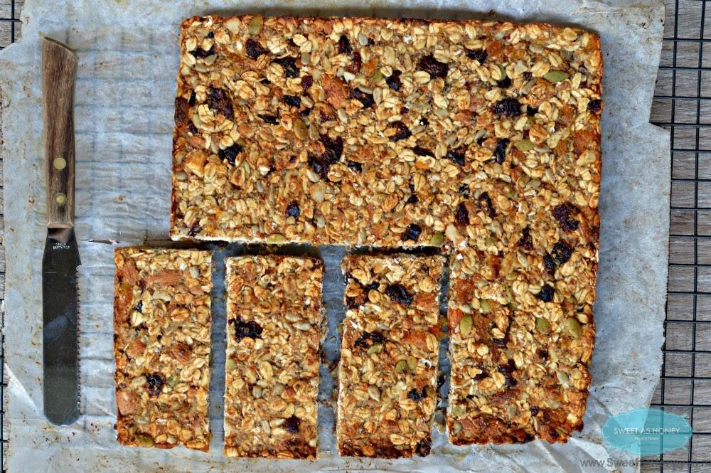 Sugar Free Granola Bars - SWEETASHONEY