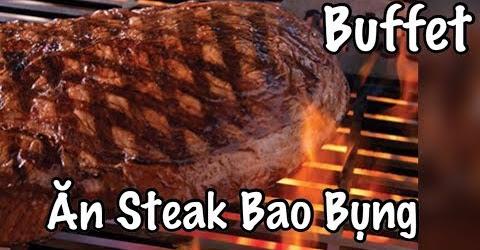 Ăn Buffet Bò Bít Tết - Thịt Bò Beef Steak Ăn Bao Bụng - Cuộc Sống Ở Mỹ - Co3nho 332