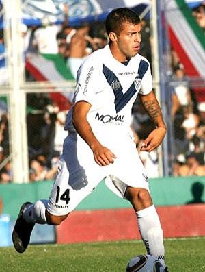 Héctor Canteros na partida do Velez (Foto: Reprodução / Site Oficial do Velez)