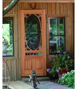 Screen Doors Solid Wood Doors Add Style To Old Houses Old House Web